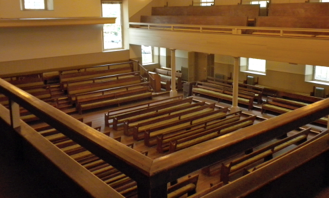 Picture of pews