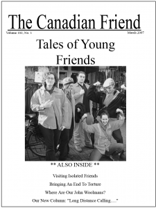Cover of 2007 Issue 1