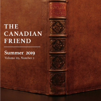 New issue of The Canadian Friend and Submissions for the Next