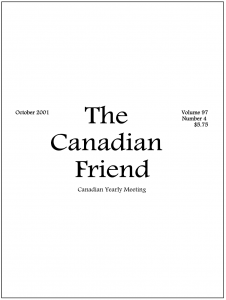 Cover of 2001 Issue 4